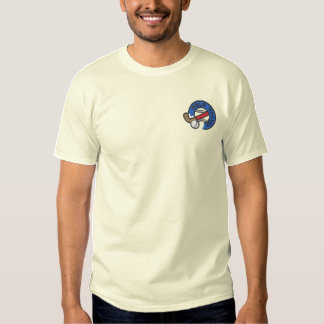 Field Hockey Embroidered T-Shirt