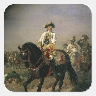 Field Marshal Baron Ernst von Laudon Square Sticker