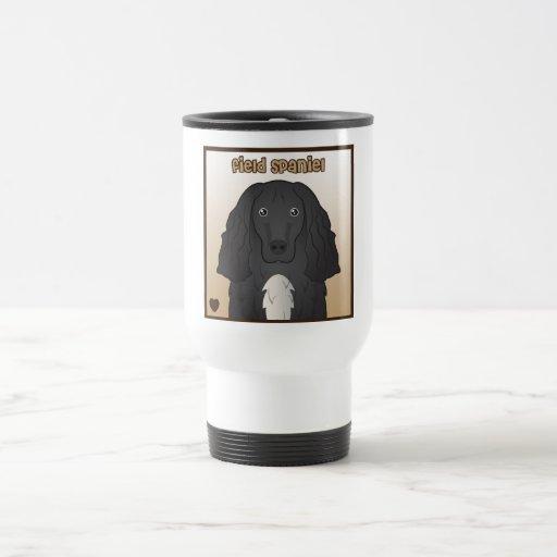 Field Spaniel Cartoon Coffee Mugs
