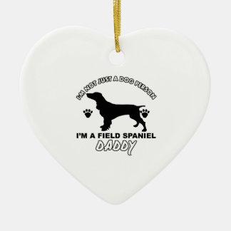 Field Spaniel Dog Daddy Christmas Ornament