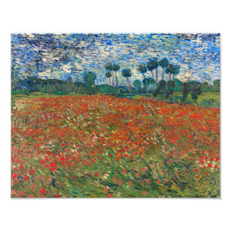 Field with Poppies Art Photo