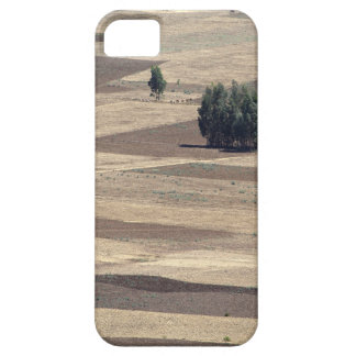 Fields after harvest iPhone 5 cover