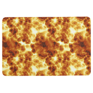 Fiery Sun Energy Design Floor Mat