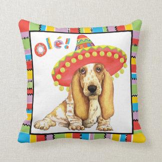Fiesta Basset Cushion