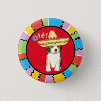 Fiesta Beagle 3 Cm Round Badge