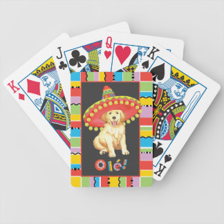 Fiesta Golden Retriever Bicycle Playing Cards