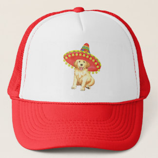 Fiesta Golden Retriever Trucker Hat