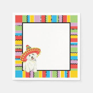 Fiesta Westie Paper Napkin