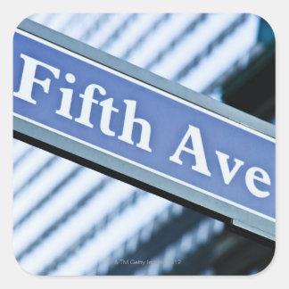 Fifth Avenue Square Sticker