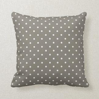 Fifties Style Polka Dot Pillow