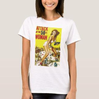 Fifty Foot Alien Women T-Shirt
