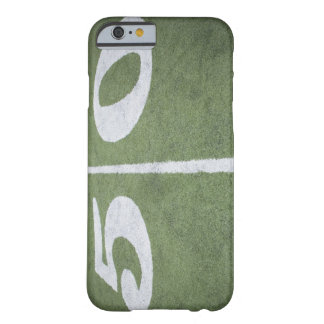 Fifty yard line on sports field barely there iPhone 6 case