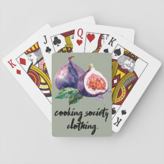 Fig Playing Cards