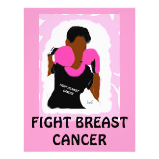 FIGHT BREAST CANCER  Flyers