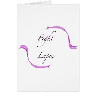 Fight Lupus Card