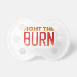 Fight the BURN muscle fitness funny design Dummy
