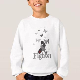 Fighter Diabetes Awareness Ribbon Sweatshirt
