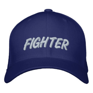 FIGHTER EMBROIDERED HAT