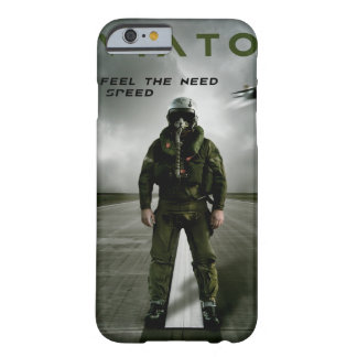 Fighter Pilot on Runway Barely There iPhone 6 Case