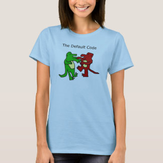 Fighting Dinosaurs Ladies Tee