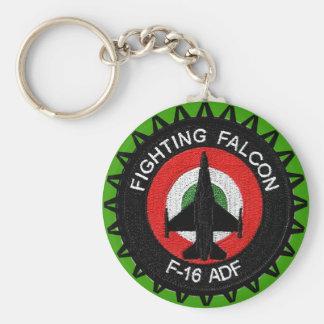FIGHTING FALCON F-16 ADF KEYCHAIN