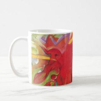 Fighting Forms (Kämpfende Formen) by Franz Marc Coffee Mug