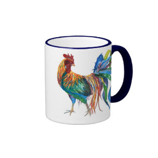 Fighting Rooster Mug