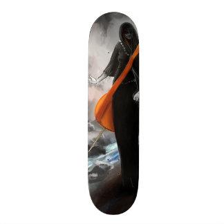 figure skateboard deck