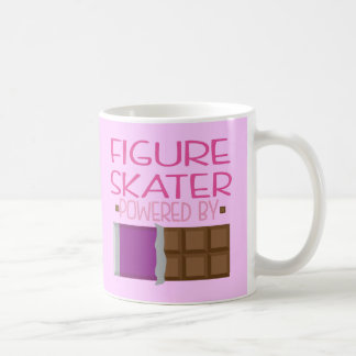Figure Skater Chocolate Gift for Her Mugs