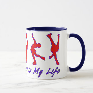 Figure Skating is My Life - Red, White & Blue