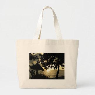 Fiji Sunset Jumbo Tote Bag