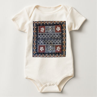 Fiji Tapa Cloth Baby Jumper Baby Bodysuit