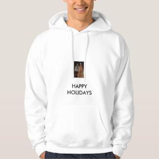 file015, HAPPY HOLIDAYS Hoodie