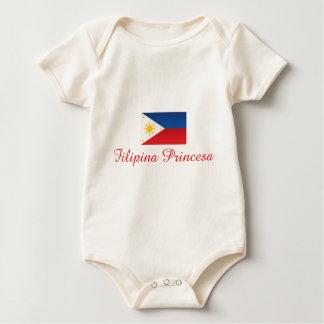 Filipina Princesa 1 Baby Bodysuit