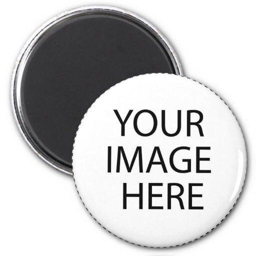 Fill Button Template Refrigerator Magnets