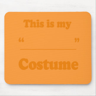 FILL IN THE BLANK COSTUME MOUSE PAD