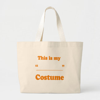 FILL IN THE BLANK COSTUME TOTE BAG