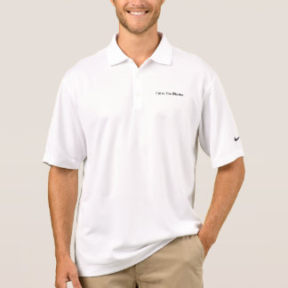 Fill In The Blanks Polo Shirts