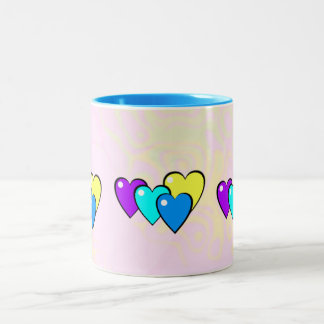 Filled Hearts customizable mug for all occasions!