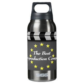 film clap crew Hollywood Insulated Water Bottle