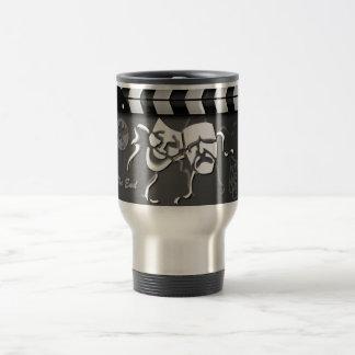 Film clap crew travel mug