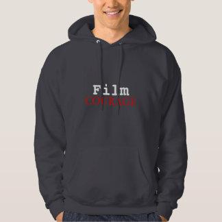 "Film Courage ""Bravery"" Man's Hoodie"