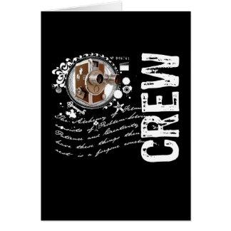 Film Crew Alchemy Greeting Cards