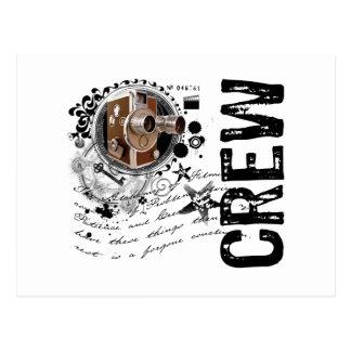Film Crew Alchemy Postcard