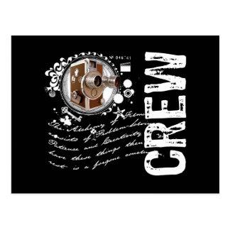 Film Crew Alchemy Post Card