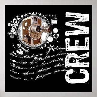 Film Crew Alchemy Posters