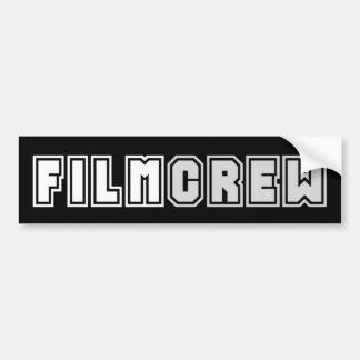 Film Crew Bumper Sticker