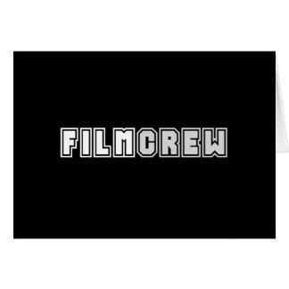 Film Crew Card