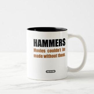 "Film Crew : ""Hammers"" Two-Tone Mug"