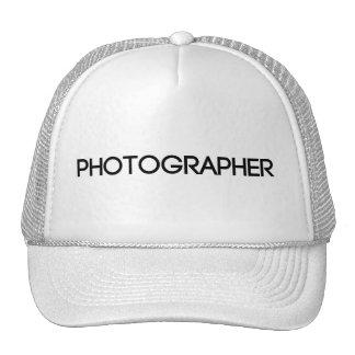 Film Crew Photographer Hat